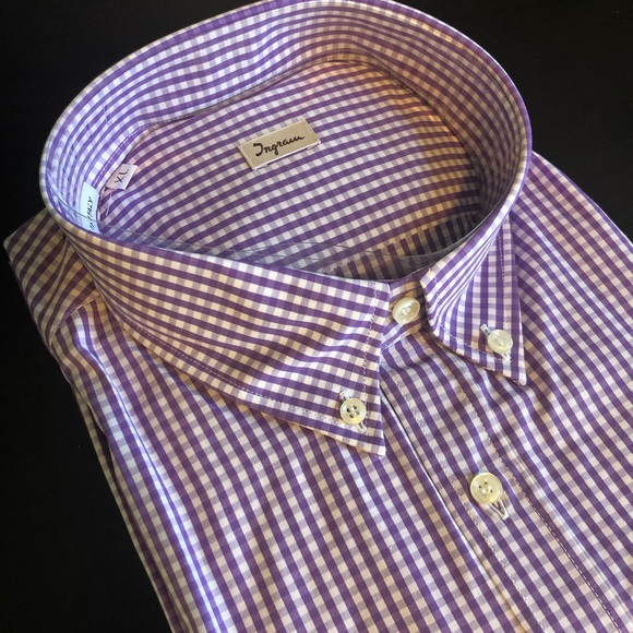 Other - Ingram Made In Italy Dress Shirt XL